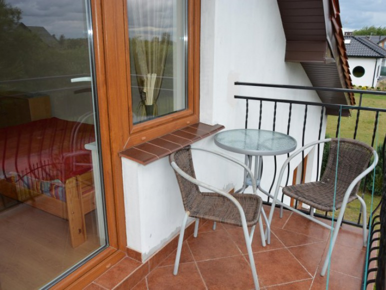 Balkon - studio dwupokojowe 4-5 osobowe