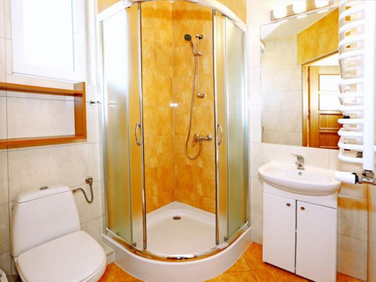 Ogrzewana łazienka