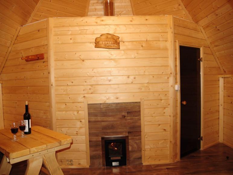 sauna ,część rozrywkowa