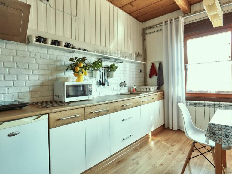 Pokój z aneksem kuchennym