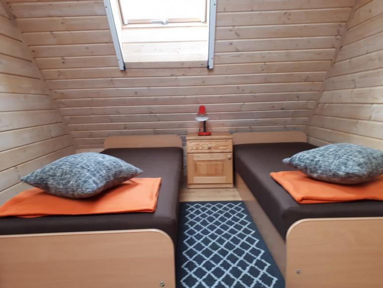 sypialnia w domku 1