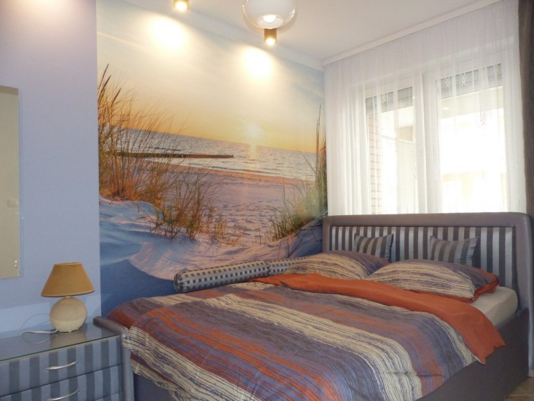 Apartament Hiszpański-sypialnia