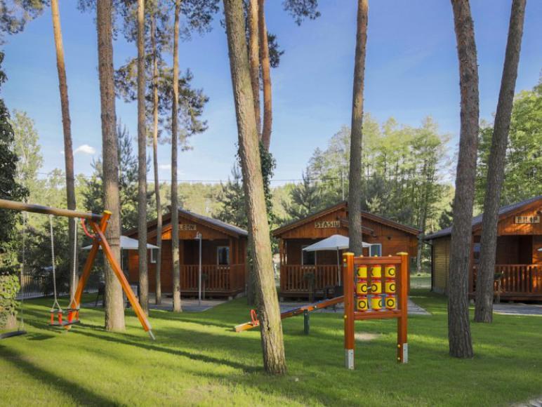 Domek drewniany 2-pokojowy 4 osobowy
