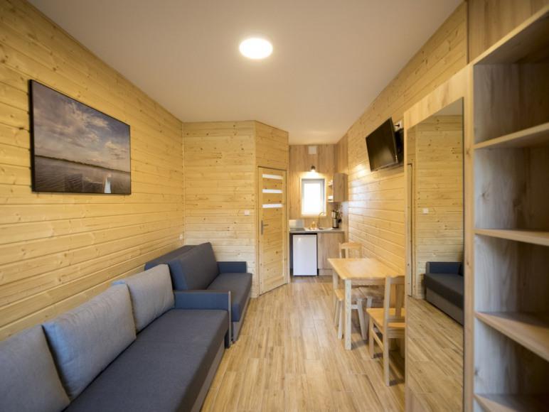 Domek w zabudowie szeregowej 1-pokojowy 2-4 osobowy