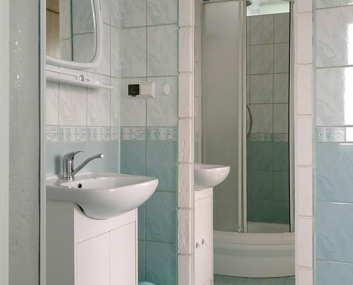 łazienka - pokój w zaciszu