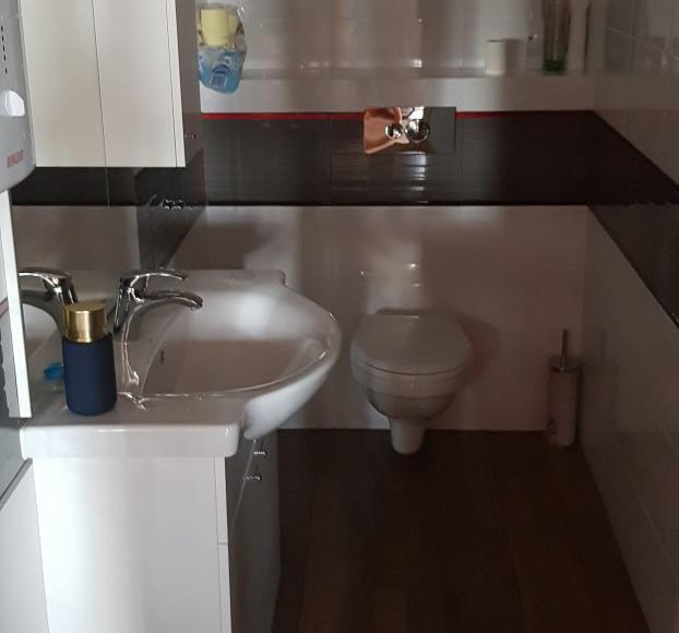 Łazienka domek 1