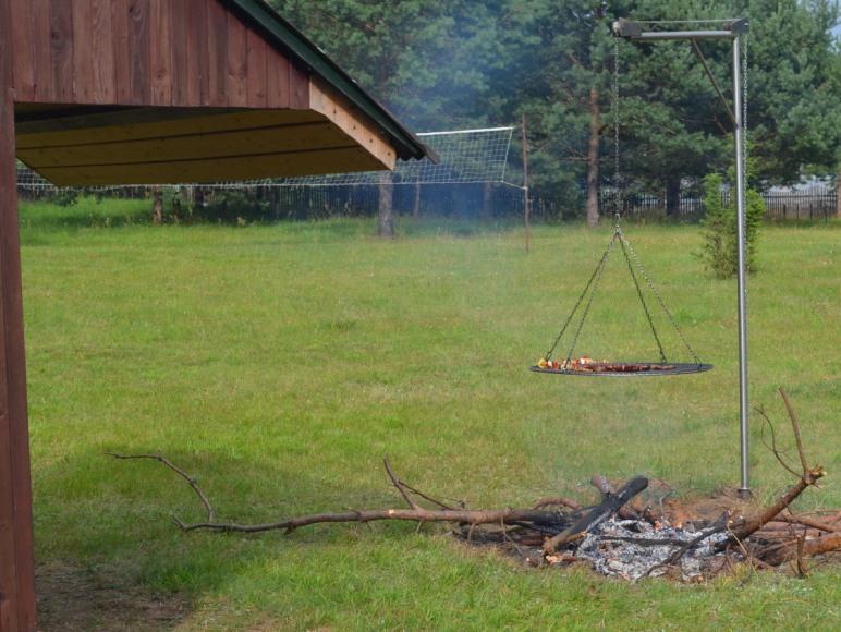 Ognisko - grill domek 1