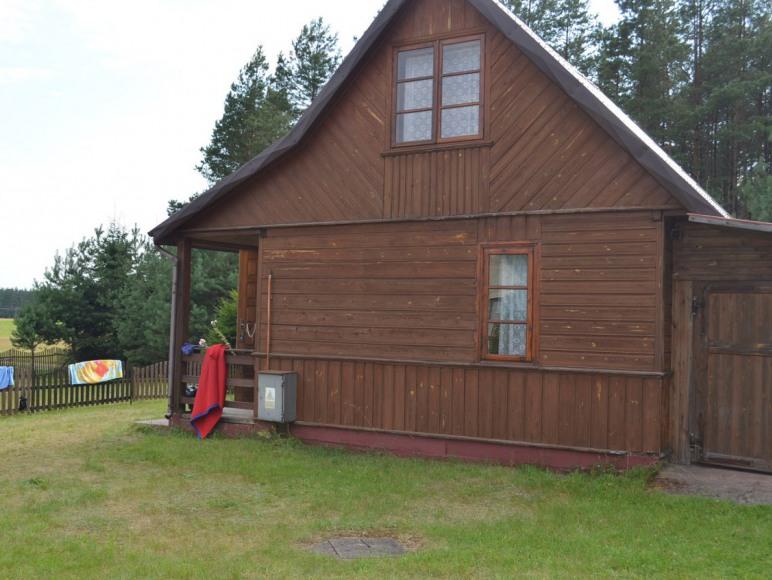 Domek 1 - widok od strony podwórka