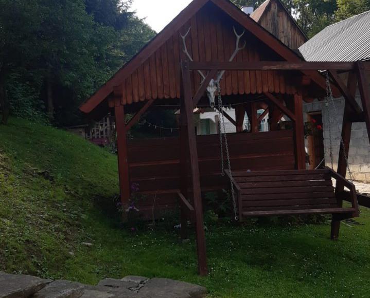 Chatka w Beskidzie Niskim