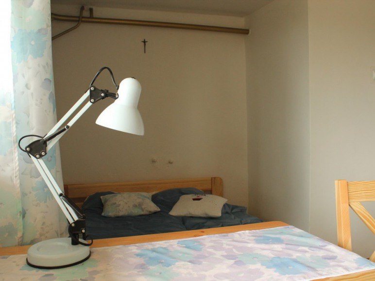 Pokój samodzielny niebieski