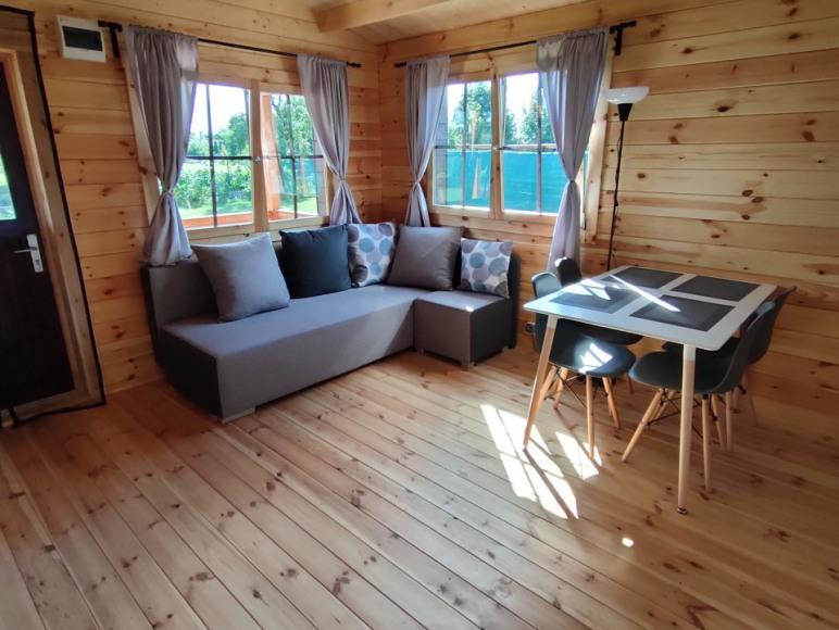 Drewniany domek letniskowy Malbork