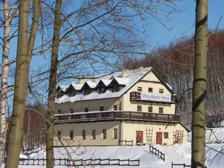 Monte Neve zimą