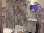 łazienka w pokoju wrzosowym