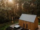Domek z jacuzzi nad jeziorem, 200 km od Warszawy