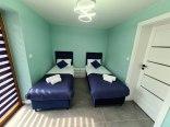 sypialnia 2 z łóżkami pojedynczymi - możliwość połaczenia w łóżko podwójne