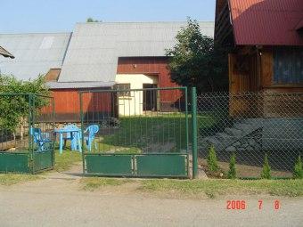 Dom w Pieninach nad Jeziorem Czorsztyńskim