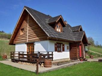 Stylowa Chata w Bieszczadach Grill, Sauna 8-12osób