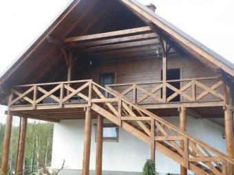 Całoroczny Domek w Borach Tucholskich nad jeziorem