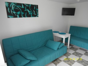 Apartamenty: turkusowe i brązowe Stegna