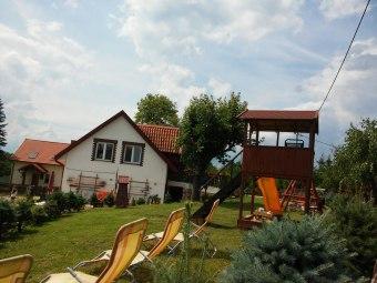 Giżycko - Super dom nad jeziorem dla 1-15 osób!