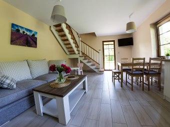 Domek na Leśnej - apartamenty z aneksem, Wi-Fi,