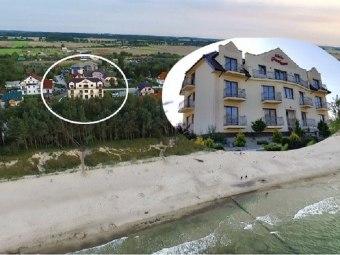 Willa Piaskowa 40 metrów od morza