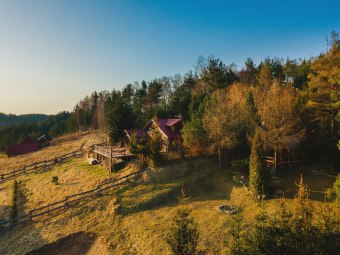 Lindy - domki na Kaszubach