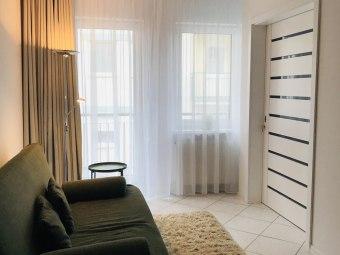 Wygodny apartament z balkonem w Sopocie