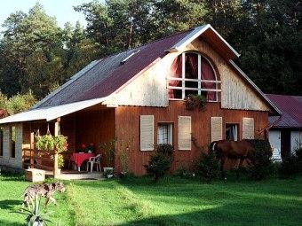 Domek w lesie - Leśniczówka Maria Teclaff