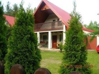 Mazury-JERUTKI.Domek nad jeziorem Marksoby
