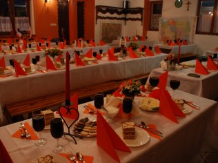 impreza na stołówce