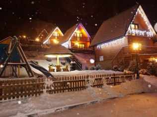Boże Narodzenie - Całoroczne domki w centrum Soliny-100m Zapora