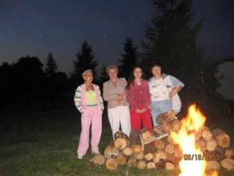 spotkania przy ognisku