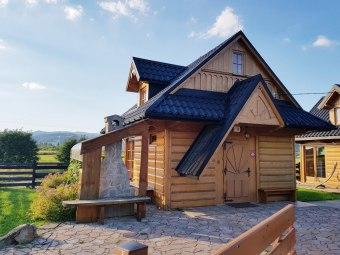Domki blisko jeziora Czorsztyn