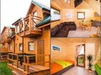 Domki i Apartamenty dla 2-8 osób 100m od plaży !