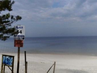 Najbliższe zejście na plażę